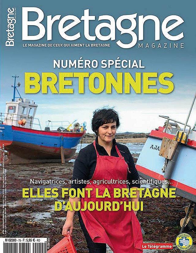 Katia - Bretagne Magazine couverture