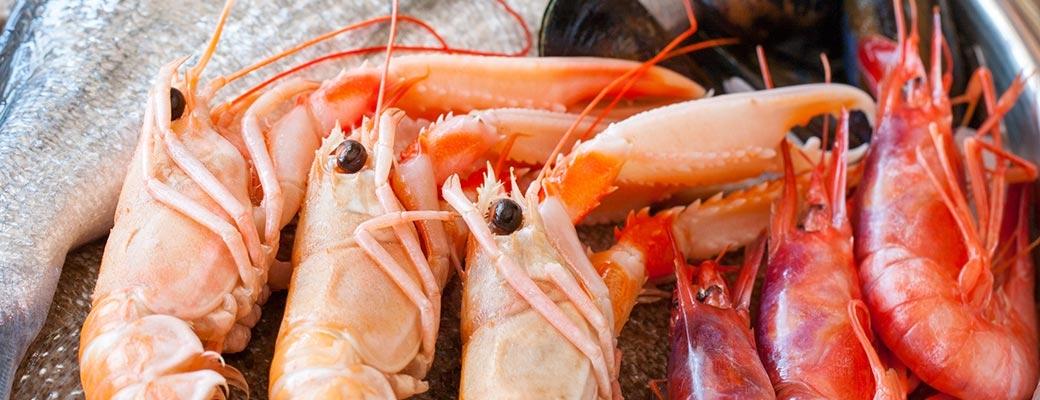1 – Poissons & Crustacés