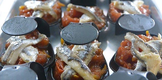 Cuillères aux anchois